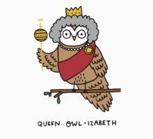 Queen Owl-izabeth Kids Clothes