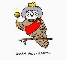 Queen Owl-izabeth Unisex T-Shirt