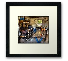 Home Country Kitchen Framed Print