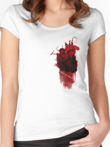 Take My Heart Women's Fitted Scoop T-Shirt