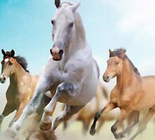 horses by ArtItaly