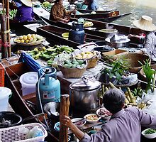 Floating Market by Dave Lloyd