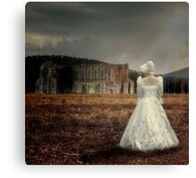 period lady Canvas Print