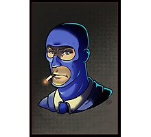 Blue Spy! Print Photographic Print