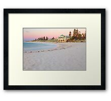 Cottesloe Beach Sunset  Framed Print