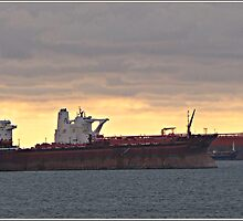 Ships now sailing up the English Channel have to take on Low sulphur Fuel by Malcolm Chant