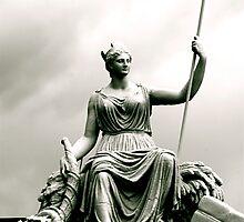 Melbourne Goddess by assh0le