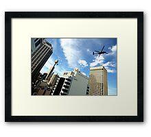 Sydney from above Framed Print