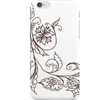 Abstract Floral Ornament 4 iPhone Case/Skin