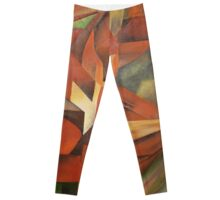 """Foxes"" -  Homage to Franz Marc (1913)     Leggings"