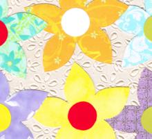 DECORATIVE FLOWERS Sticker