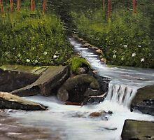 """Streams of Living Water""... prints and products by © Bob Hall"