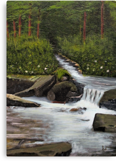 Streams of Living Water... prints and products by © Bob Hall