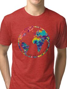 Go With All Your Heart - World Tri-blend T-Shirt