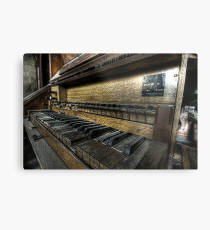 Mighty Organ Metal Print