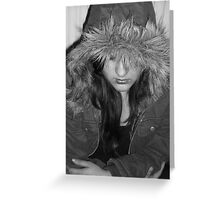 Lost in Fur Greeting Card