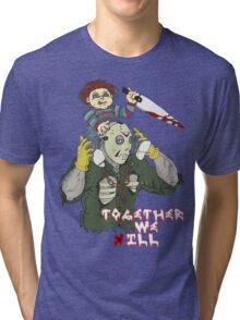 Chucky N Jason - Together We iLL Tri-blend T-Shirt