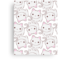 Bai Bai Kitty Canvas Print