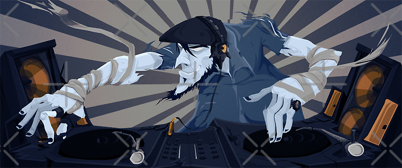 Mad-DJ by THE  WULFLAND