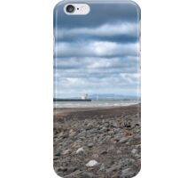 tanker at rocky beal beach iPhone Case/Skin
