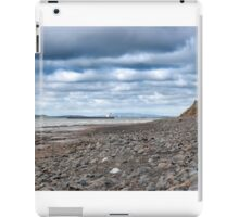 tanker at rocky beal beach iPad Case/Skin