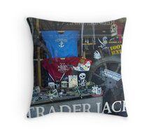 TRADER JACK'S - OAK BLUFFS Throw Pillow