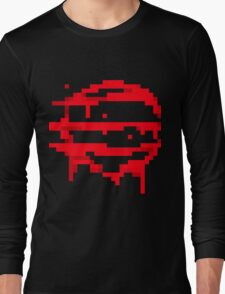 Hotline Miami: 50 Blessings logo Long Sleeve T-Shirt