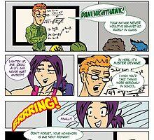 Hawk & Croc: Generation 2 Page 01 by psychoandy