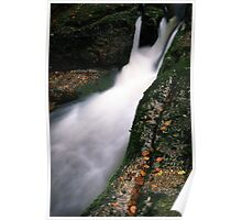 Waterfall on Jedlova brook Poster
