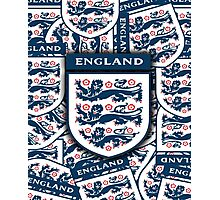 England football insignia badge Photographic Print