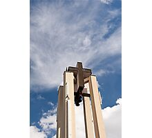 High church turret cross Photographic Print