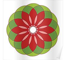 Circular Ornament 12 Poster