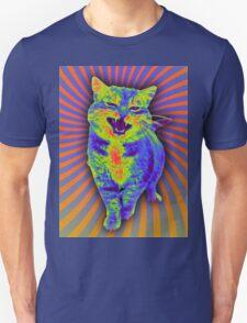 Psychedelic Kitty (Remaster) Unisex T-Shirt