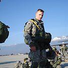 Flightline Paratrooper by Andy Wolf