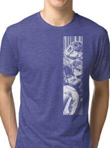 Stoner White Tri-blend T-Shirt