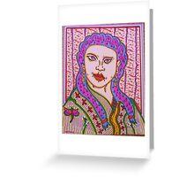 eastern beauty Greeting Card