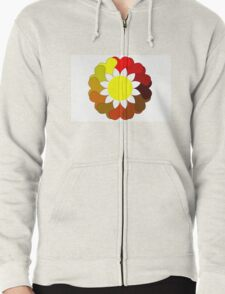 Multi colored flower T-Shirt