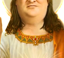 GabeN, Our lord and savior Sticker