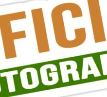 Official Photographer Sticker