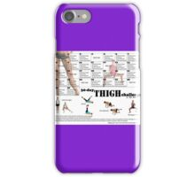 Squat Challenge iPhone Case/Skin