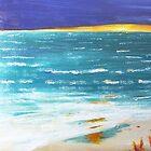 Beach Sunset by Jack G Brauer