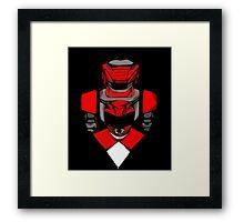 Red Ranger Tyranno Framed Print