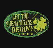 St. Patrick's Day Shenanigans Irish Pranking Baby Tee