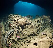SS Thistlegorm inside - Background Story by Norbert Probst