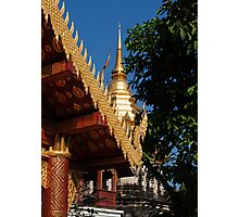 Gilded Temple Photographic Print