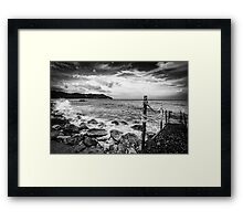 The Winter Sea 04 Framed Print