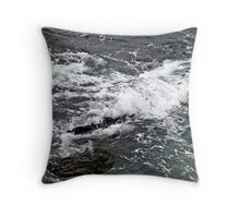 The unforgiving Sea. Throw Pillow