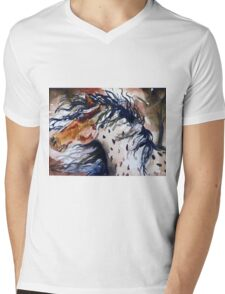 Fury in the Wind Mens V-Neck T-Shirt