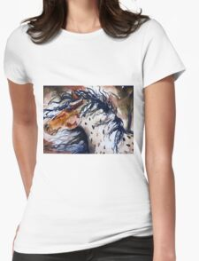 Fury in the Wind Womens Fitted T-Shirt