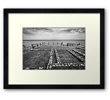 The Winter Sea 05 Framed Print